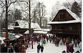 Vánoce veValašském muzeu vpřírodě