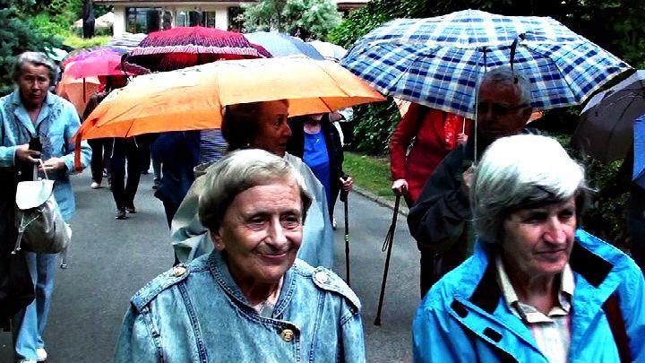 K zámku v dešti, foto: Ing. Ladislav Bábíček