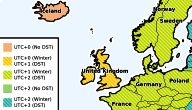 Europe Time Zone