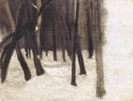 Ladislav Medňanský: Na kraji lesa