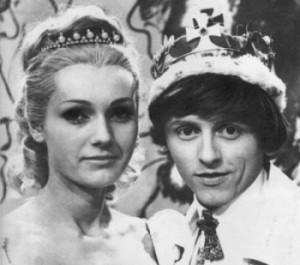 Ve filmu Šíleně smutná princezna - 1968 (archiv).