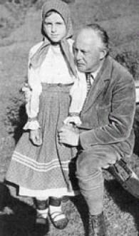 Ivan Olbracht s Ančou, dcerou Nikoly Šuhaje