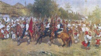 Joža Uprka: Jízda králů, 1897, olej